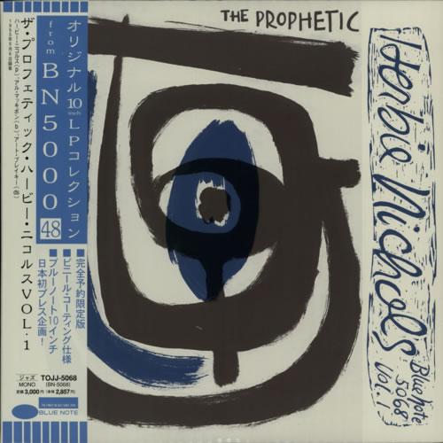 "Herbie Nichols The Prophetic Herbie Nichols Vol. 1 10"" vinyl single (10"" record) Japanese HNI10TH615938"