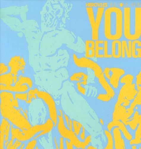 "Hercules And Love Affair You Belong 12"" vinyl single (12 inch record / Maxi-single) UK HEU12YO438228"