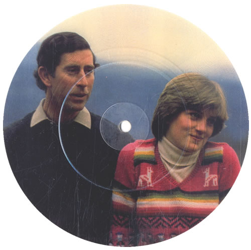 """Heroes And Angels Hey Diana (The Wedding Song) 7"""" vinyl picture disc 7 inch picture disc single UK HQT7PHE554739"""