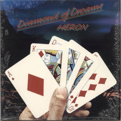 Heron Diamond Of Dreams vinyl LP album (LP record) UK HH1LPDI725018