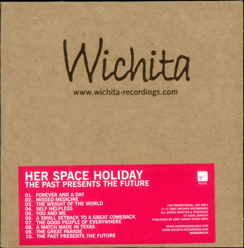 Her Space Holiday The Past Presents The Future CD album (CDLP) UK HSPCDTH517222