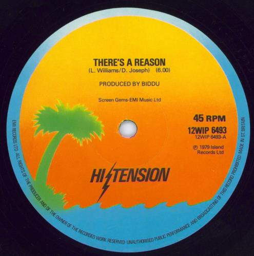 "Hi-Tension There's A Reason 12"" vinyl single (12 inch record / Maxi-single) UK H-212TH441035"