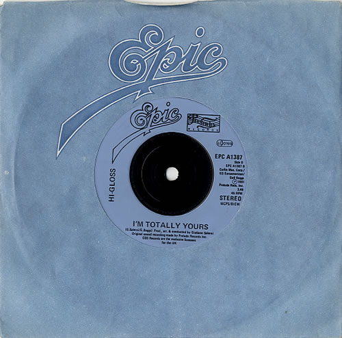 "Hi-Gloss You'll Never Know - Injection 7"" vinyl single (7 inch record) UK HI207YO621578"
