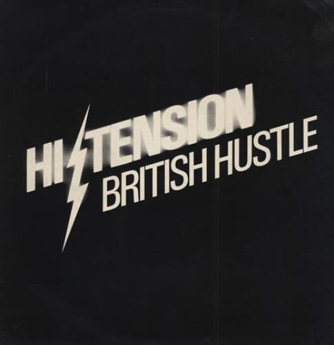 "Hi-Tension British Hustle 12"" vinyl single (12 inch record / Maxi-single) UK H-212BR400547"