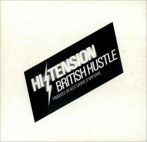 "Hi-Tension British Hustle 12"" vinyl single (12 inch record / Maxi-single) UK H-212BR441038"