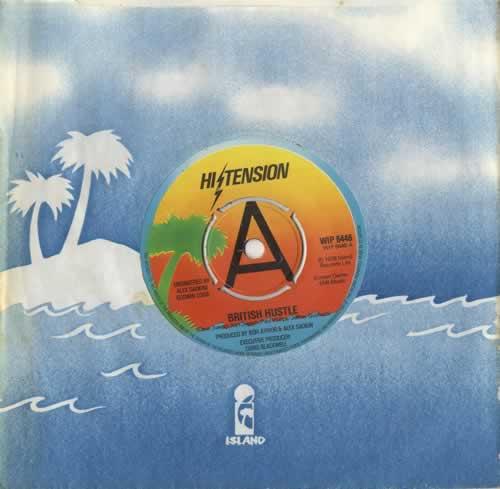 "Hi-Tension British Hustle 7"" vinyl single (7 inch record) UK H-207BR449971"