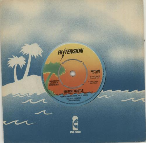 "Hi-Tension British Hustle 7"" vinyl single (7 inch record) UK H-207BR517199"