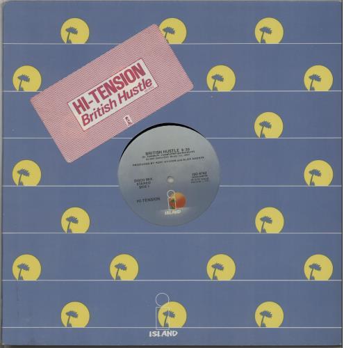 "Hi-Tension British Hustle 12"" vinyl single (12 inch record / Maxi-single) UK H-212BR645272"
