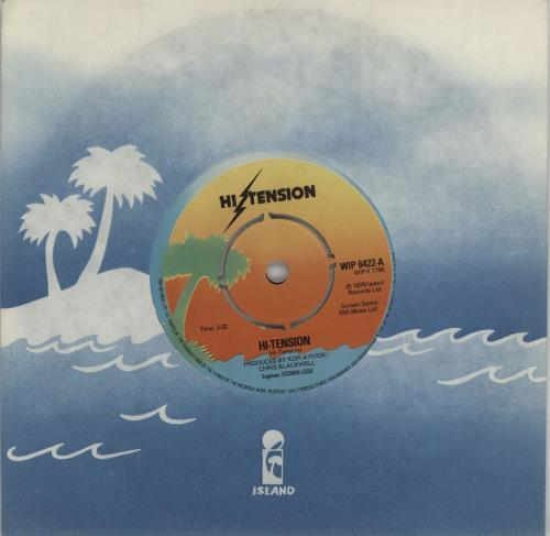 "Hi-Tension Hi-Tension 7"" vinyl single (7 inch record) UK H-207HI449969"