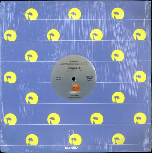 "Hi-Tension Hi-Tension 12"" vinyl single (12 inch record / Maxi-single) US H-212HI516040"