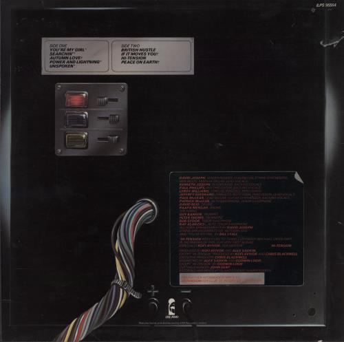Hi-Tension Hi-Tension vinyl LP album (LP record) UK H-2LPHI753300