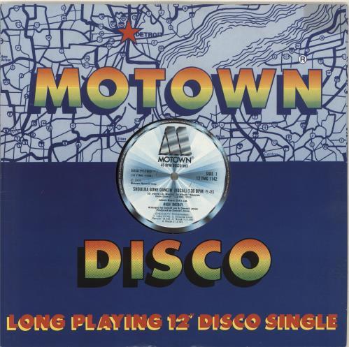 "High Inergy Shoulda Gone Dancin' 12"" vinyl single (12 inch record / Maxi-single) US HGI12SH704355"