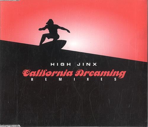 "High Jinx California Dreaming - Remixes CD single (CD5 / 5"") UK HCMC5CA549626"