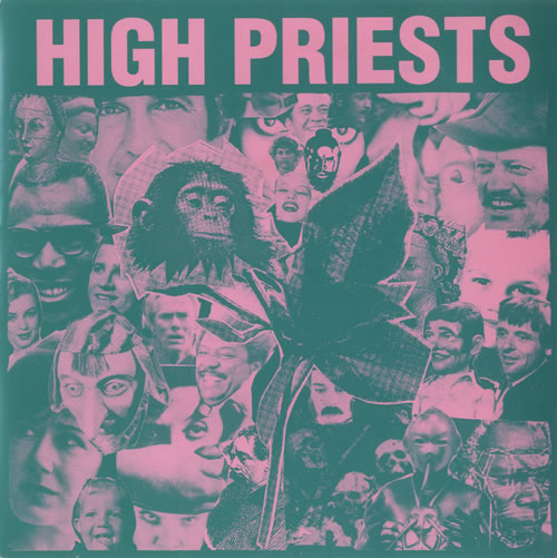 "High Priests Ice Cream Town 7"" vinyl single (7 inch record) UK HJH07IC514589"