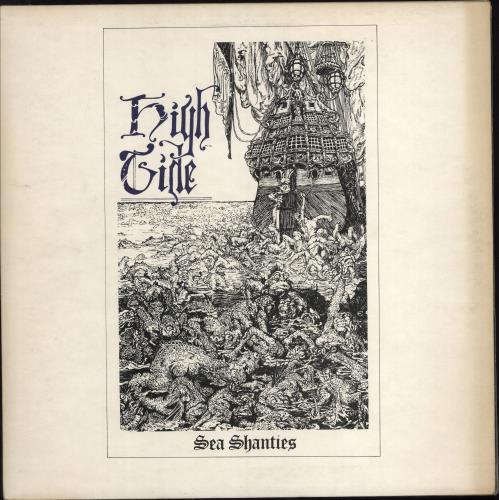 High Tide Sea Shanties - 1st vinyl LP album (LP record) UK HKGLPSE597328