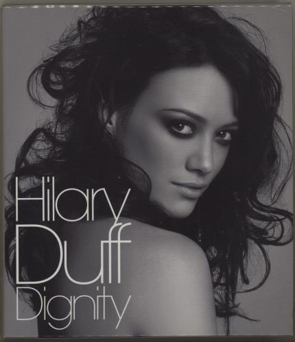 Hilary Duff Dignity + Photo Book 2-disc CD/DVD set Japanese HA-2DDI387908