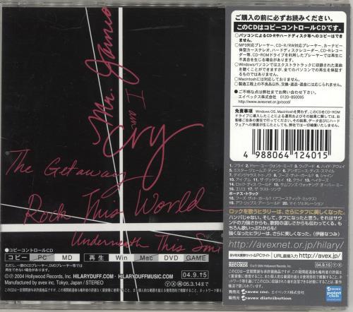 Hilary Duff Hilary Duff CD album (CDLP) Japanese HA-CDHI694666