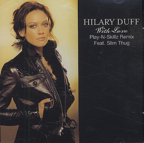 Hilary Duff With Love CD-R acetate US HA-CRWI410504