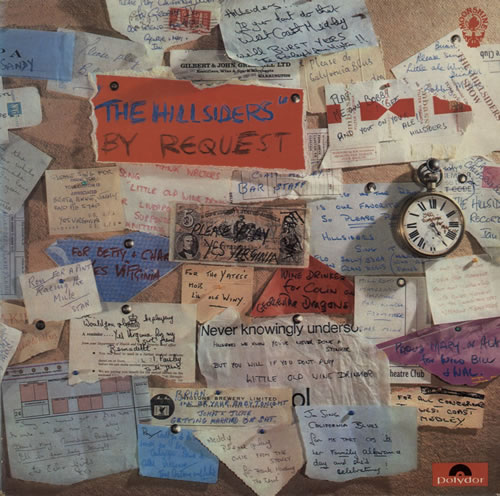 Hillsiders By Request vinyl LP album (LP record) UK HI-LPBY574366