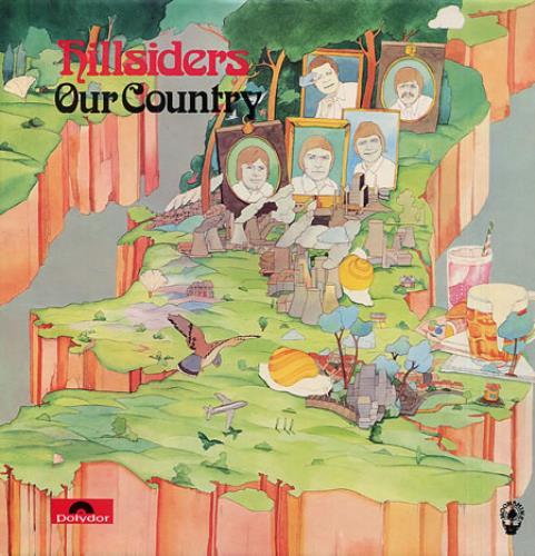 Hillsiders Our Country vinyl LP album (LP record) UK HI-LPOU329477