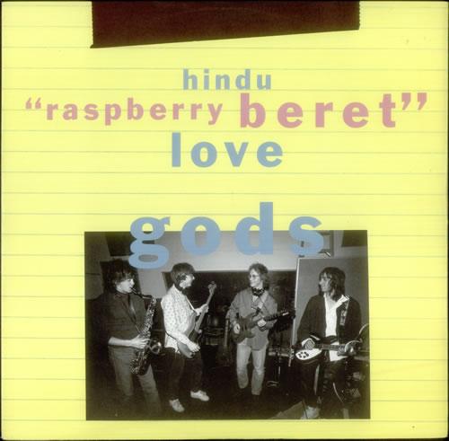 "Hindu Love Gods Raspberry Beret 12"" vinyl single (12 inch record / Maxi-single) UK HLG12RA100043"