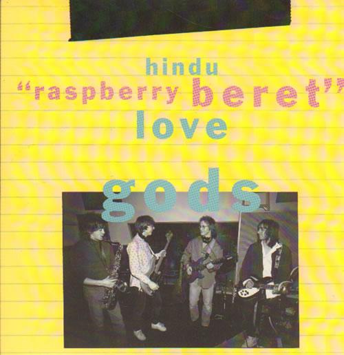 "Hindu Love Gods Raspberry Beret 7"" vinyl single (7 inch record) UK HLG07RA66937"