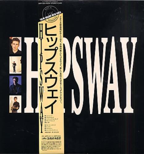 Hipsway Hipsway vinyl LP album (LP record) Japanese HIPLPHI288991