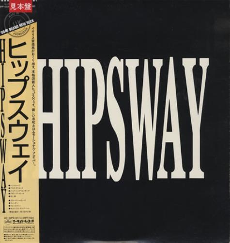 Hipsway Hipsway vinyl LP album (LP record) Japanese HIPLPHI407012