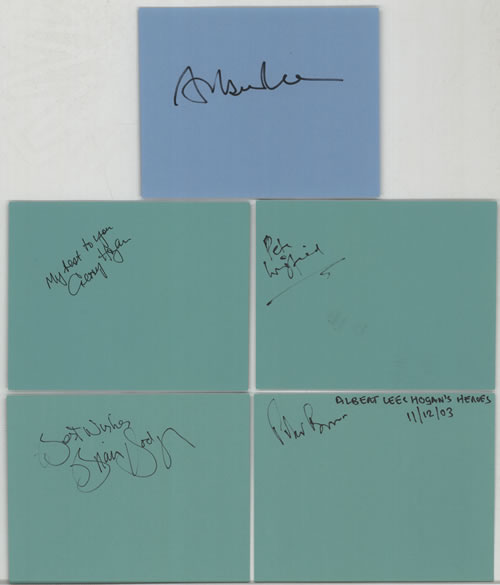 Hogan's Heroes Pages From An Autograph Book memorabilia UK HSGMMPA602173