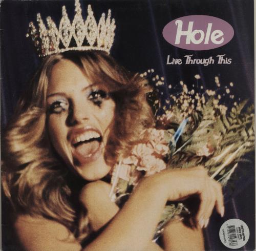 Hole Live Through This - white vinyl vinyl LP album (LP record) German HLELPLI242213