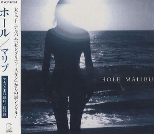 "Hole Malibu CD single (CD5 / 5"") Japanese HLEC5MA134310"