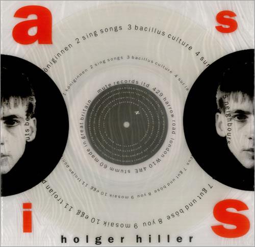 Holger Hiller As Is - Clear Vinyl vinyl LP album (LP record) UK HD7LPAS455363