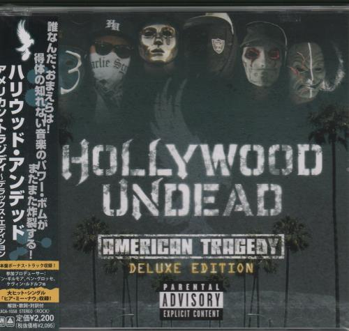 Hollywood Undead American Tragedy - Deluxe Edition CD album (CDLP) Japanese 7HUCDAM662780