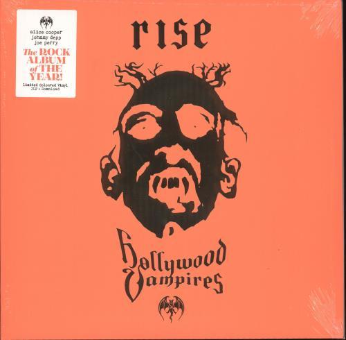 Hollywood Vampires Rise - Orange & Red Vinyl - Sealed 2-LP vinyl record set (Double Album) UK Z3L2LRI723795