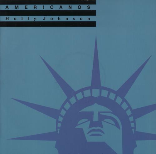 """Holly Johnson Americanos 12"""" vinyl single (12 inch record / Maxi-single) UK HJO12AM305560"""