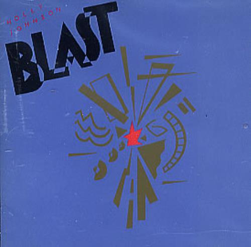 Holly Johnson Blast CD album (CDLP) UK HJOCDBL289942
