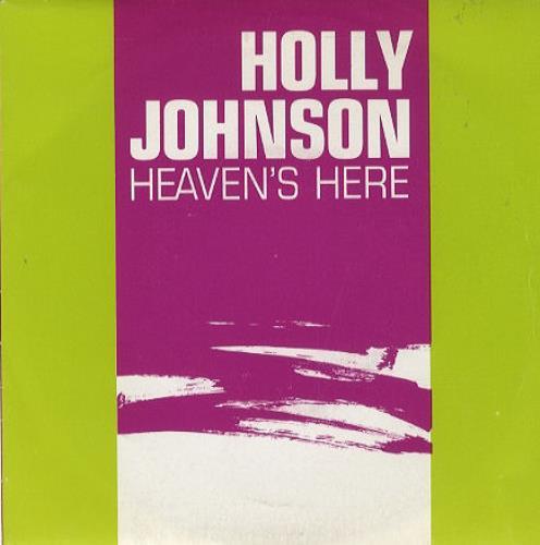 """Holly Johnson Heaven's Here 7"""" vinyl single (7 inch record) Spanish HJO07HE206623"""