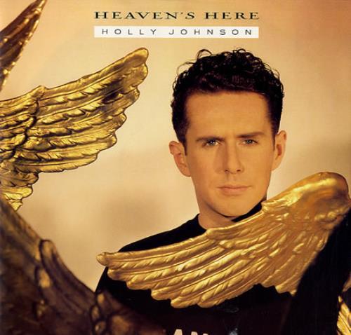 """Holly Johnson Heaven's Here 12"""" vinyl single (12 inch record / Maxi-single) UK HJO12HE43895"""