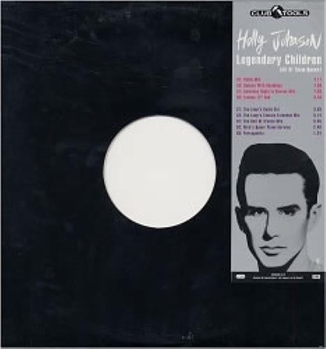 "Holly Johnson Legendary Children - Double White Vinyl 12"" vinyl single (12 inch record / Maxi-single) Dutch HJO12LE40507"