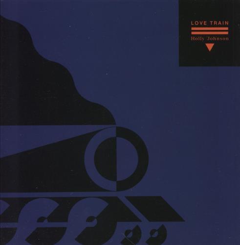 "Holly Johnson Love Train - Wide Centre 7"" vinyl single (7 inch record) UK HJO07LO746932"
