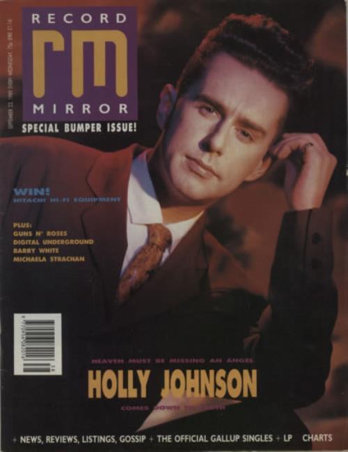 Holly Johnson Record Mirror magazine UK HJOMARE607942