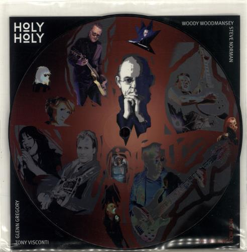 "Holy Holy We Are King 7"" vinyl picture disc 7 inch picture disc single UK QPL7PWE689478"