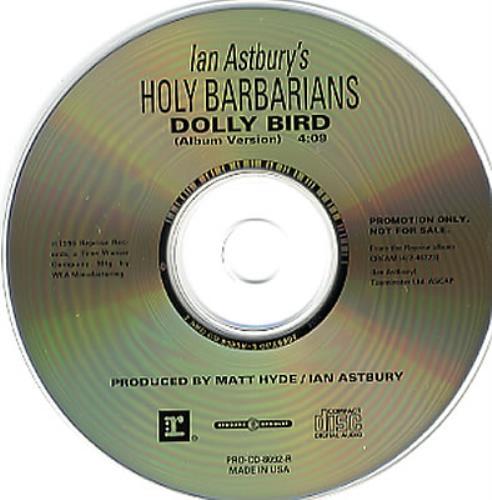 "Holy Barbarians Dolly Bird CD single (CD5 / 5"") US HBBC5DO352368"