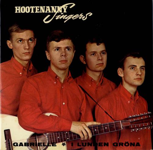 """Hootenanny Singers Hootenanny Singers EP 7"""" vinyl single (7 inch record) Swedish YNH07HO563329"""