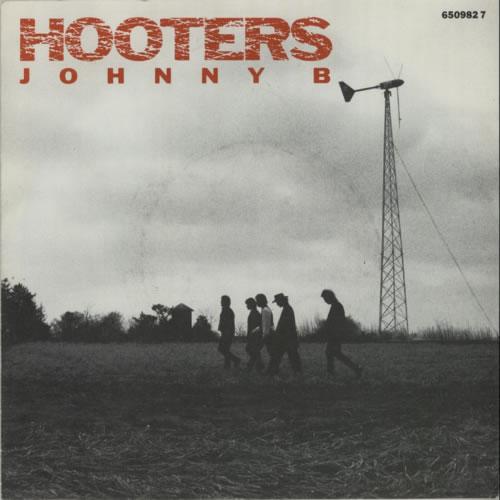 """Hooters Johnny B 7"""" vinyl single (7 inch record) UK HTR07JO589175"""
