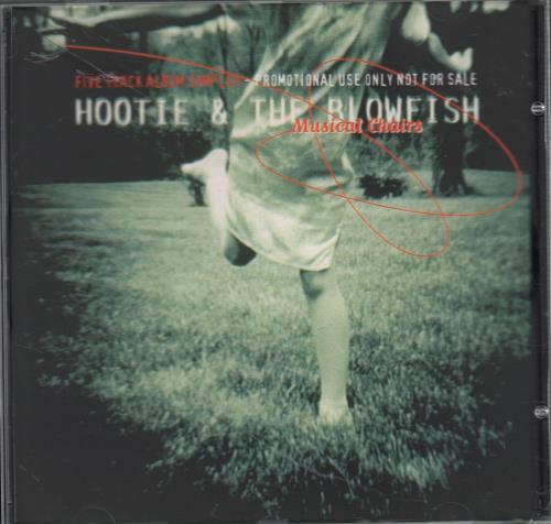 Hootie & The Blowfish Five Track Album Sampler 'Musical Chairs' CD-R acetate UK HBFCRFI121790