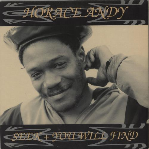 Horace Andy Seek + You Will Find vinyl LP album (LP record) UK HCELPSE764162