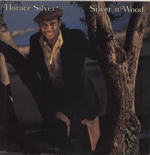 Horace Silver Silver 'N Wood - Autographed vinyl LP album (LP record) US HAOLPSI748083