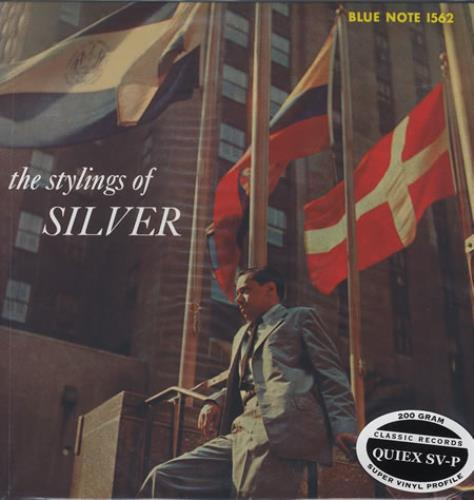 Horace Silver The Stylings Of Silver - 200gm vinyl LP album (LP record) US HAOLPTH374983