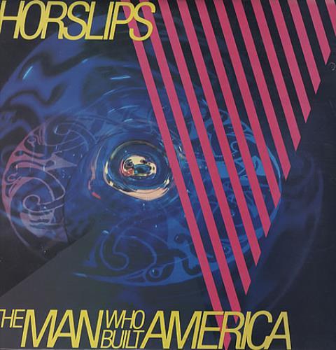 Horslips The Man Who Built America vinyl LP album (LP record) Irish OSLLPTH330592